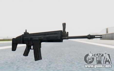 SCAR-L para GTA San Andreas segunda pantalla