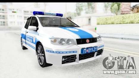 Fiat Punto Mk2 Policija para GTA San Andreas