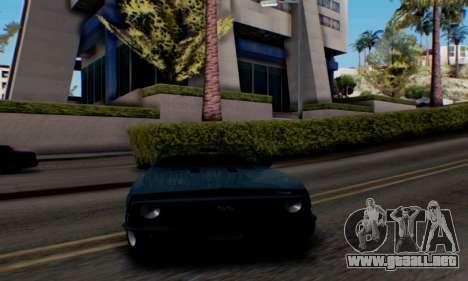 Chevrolet 369 Camaro SS para GTA San Andreas vista posterior izquierda