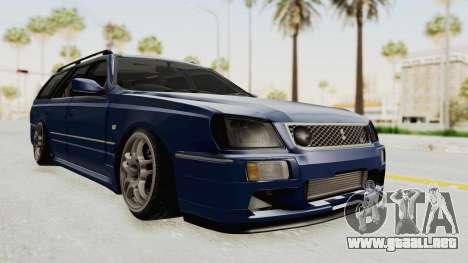 Nissan Stagea WC34 1996 para la visión correcta GTA San Andreas