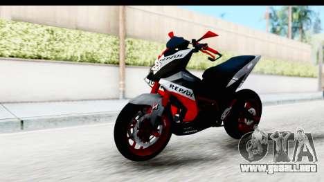 Honda Supra GTR 150 para GTA San Andreas