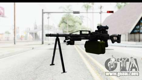 Kalashnikov PK (PKM) para GTA San Andreas segunda pantalla