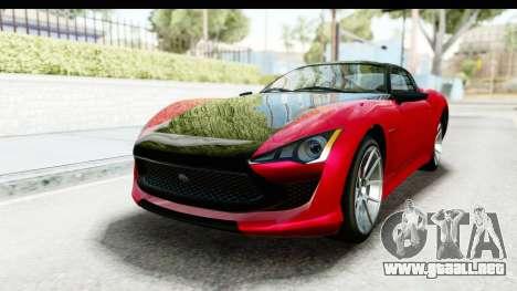 GTA 5 Lampadati Furore GT IVF para la visión correcta GTA San Andreas