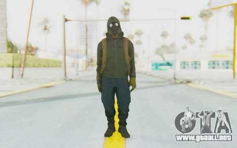 The Division Cleaners - Shield para GTA San Andreas segunda pantalla