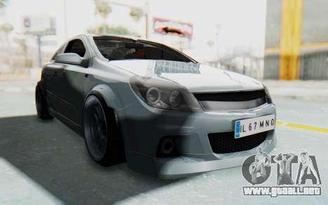 Opel Astra para la visión correcta GTA San Andreas