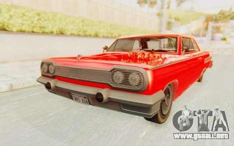 GTA 5 Declasse Voodoo Alternative v2 para la visión correcta GTA San Andreas