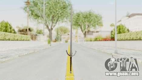 The Witcher 3: Wild Hunt - Sword v1 para GTA San Andreas segunda pantalla
