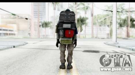 The Division Last Man Battalion - Medic para GTA San Andreas tercera pantalla