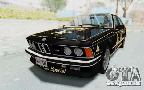 BMW M635 CSi (E24) 1984 HQLM PJ3 para las ruedas de GTA San Andreas