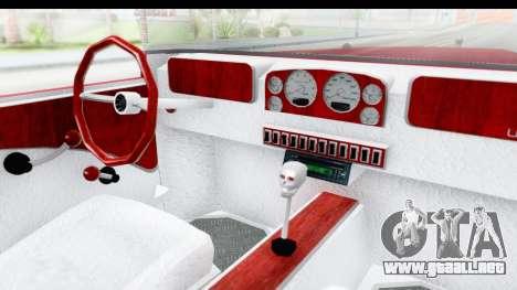 Unique V16 Phaeton para visión interna GTA San Andreas