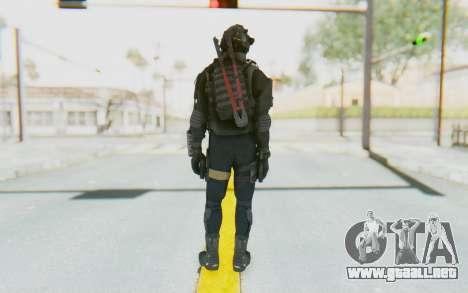 Federation Elite SMG Tactical para GTA San Andreas tercera pantalla