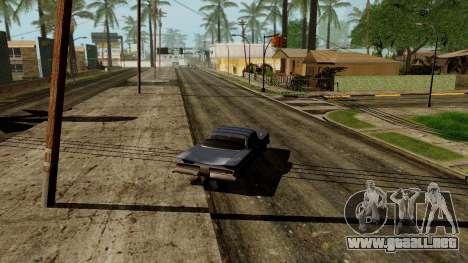 GeForce ENB para PC débil para GTA San Andreas quinta pantalla