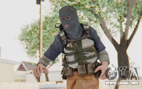 CoD MW3 Suicide Bomber para GTA San Andreas