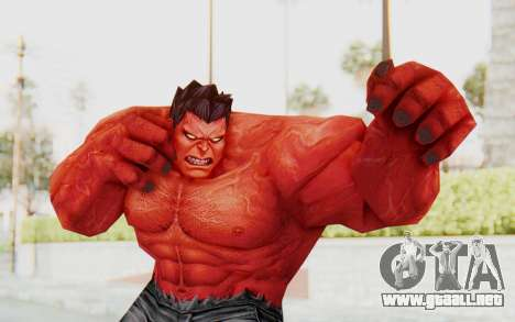 Marvel Future Fight - Red Hulk para GTA San Andreas
