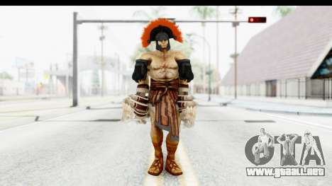 God of War 3 - Hercules v2 para GTA San Andreas segunda pantalla