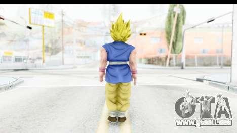 Dragon Ball Xenoverse Goku GT Adult SSJ1 para GTA San Andreas tercera pantalla
