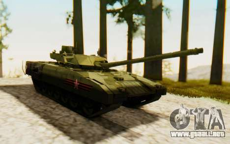 T-14 Armata para la visión correcta GTA San Andreas