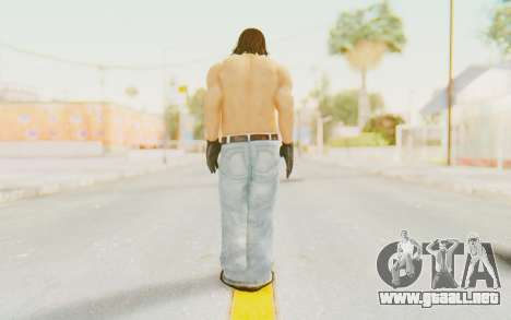 Def Jam Fight For New York - Danny Trejo para GTA San Andreas tercera pantalla