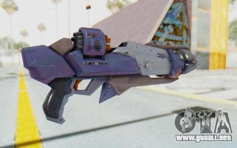Pharah Mechaqueen Rocket para GTA San Andreas segunda pantalla