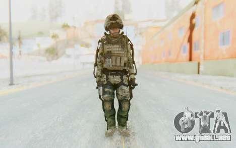 CoD AW US Marine Assault v4 Head D para GTA San Andreas segunda pantalla