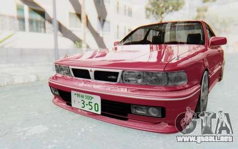 Mitsubishi Galant VR4 1992 para la visión correcta GTA San Andreas