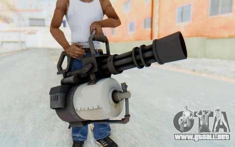 Minigun from TF2 para GTA San Andreas
