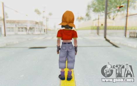 Dragon Ball Xenoverse Pan SJ para GTA San Andreas tercera pantalla
