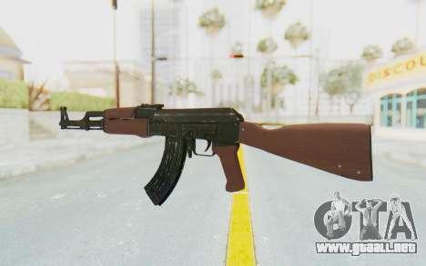 Assault AK-47 para GTA San Andreas segunda pantalla