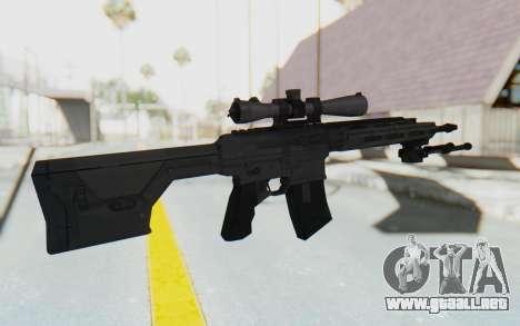 CoD: MW3 - Remington RSASS para GTA San Andreas tercera pantalla