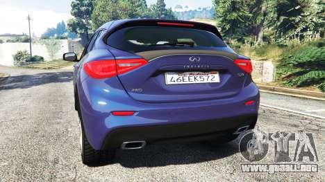 Infiniti Q30 2016 para GTA 5