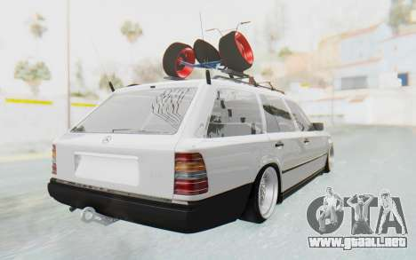 Mercedes-Benz W124 Stance Works para GTA San Andreas left