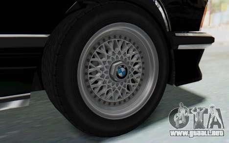 BMW M635 CSi (E24) 1984 HQLM PJ3 para la visión correcta GTA San Andreas