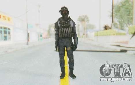 Federation Elite SMG Original para GTA San Andreas segunda pantalla