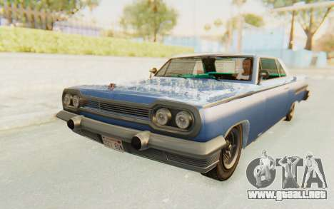 GTA 5 Declasse Voodoo Alternative v2 PJ para GTA San Andreas