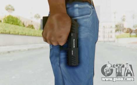 GTA 5 Hawk & Little Combat Pistol para GTA San Andreas