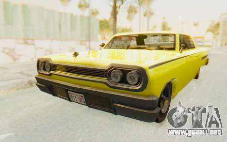 GTA 5 Declasse Voodoo para la visión correcta GTA San Andreas