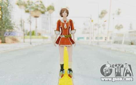 Dynasty Warriors 7 Sun Shangxiang School DLC para GTA San Andreas segunda pantalla