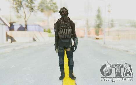 Federation Elite SMG Tactical para GTA San Andreas segunda pantalla