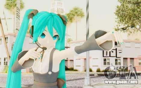 MMD Hatsune Miku para GTA San Andreas