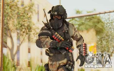 Federation Elite Shotgun Woodland-Flora para GTA San Andreas