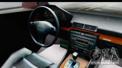 Audi A6 C5 Avant Sommerzeit para visión interna GTA San Andreas