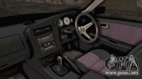 Nissan Stagea WC34 1996 para visión interna GTA San Andreas
