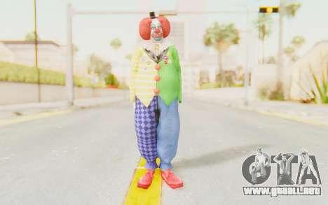 Dead Rising - Adam Macintyre The Clown para GTA San Andreas segunda pantalla