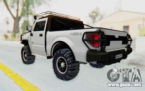 Hummer H2 para GTA San Andreas left