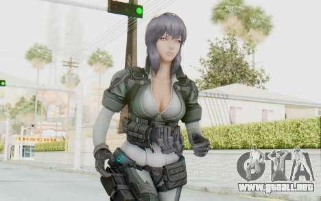 Ghost In The Shell First Assautl Motoko v2 para GTA San Andreas