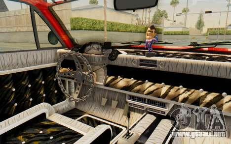 GTA 5 Declasse Voodoo Alternative v2 para visión interna GTA San Andreas