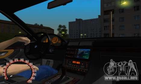BMW 740i E38 para visión interna GTA San Andreas