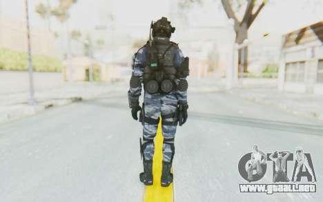 Federation Elite Assault Urban-Navy para GTA San Andreas tercera pantalla