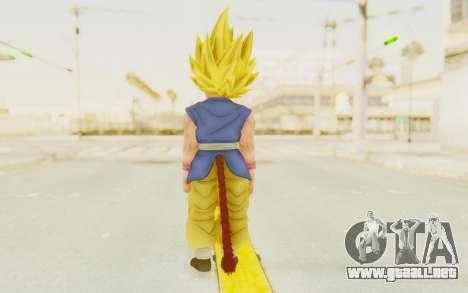 Dragon Ball Xenoverse Goku Kid GT SSJ para GTA San Andreas tercera pantalla