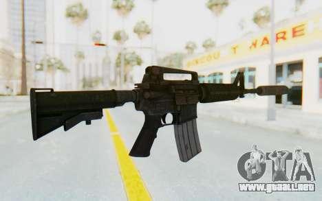 Assault M4A1 Silenced para GTA San Andreas segunda pantalla